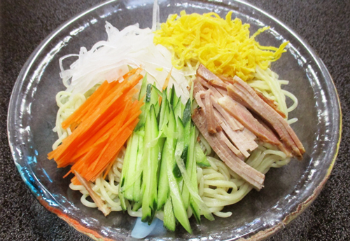 自家製 冷麺 670円 冷麺始めました^^おすすめです!